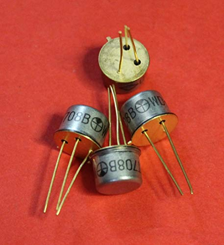 Transistor silicon military KT708V (2T708V) analogue BSS61 USSR 1 pcs