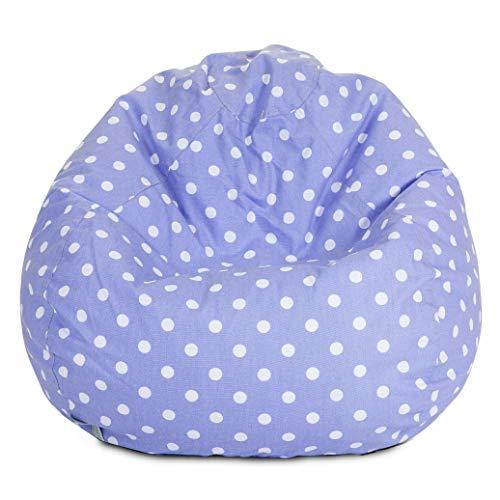 Lavender Polka Dots Small Bean Bag