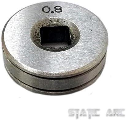 MIG C/âble dalimentation /à rouleau pour roue avec filetage V KNURLED Soudage 0,6//0,8//1,0 mm