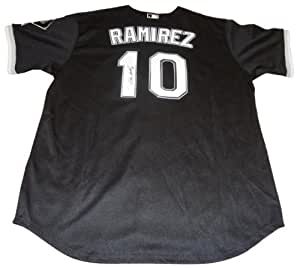 Alexei Ramirez Autographed Chicago White Sox Black Jersey W/PROOF, Picture of Alexei Signing For Us, Chicago White Sox, Team Cuba, 2006 World Baseball Classic