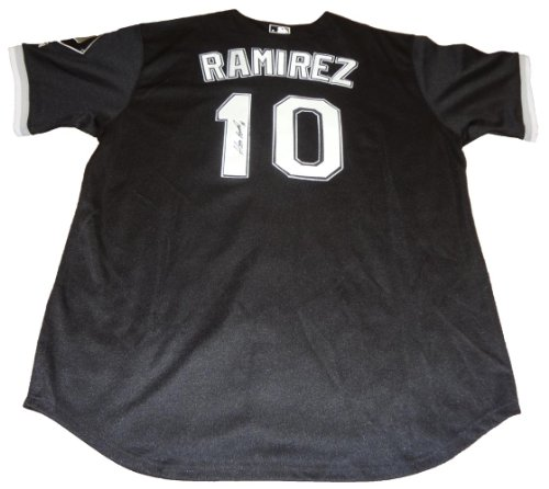Alexei Ramirez Autographed Chicago White Sox Black Jersey W/PROOF, Picture of Alexei Signing For Us, Chicago White Sox, Team Cuba, 2006 World Baseball Classic Ramirez Autographed Jersey