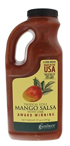 Tropical Style Mango Salsa with Lime - 37 ounces