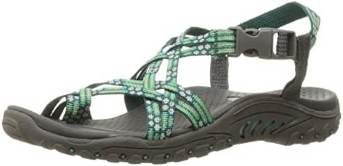 Skechers Women's Reggae Buckle Clip Sandal