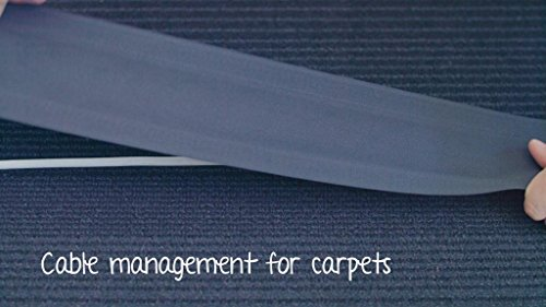 Secure Cord Cable Management System for Carpeted Surfaces, Removable and Reusable by Secure Cord (Image #6)