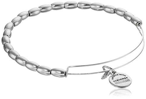 Alex and Ani Bangle Bar Jordan Expandable Wire Bracelet, 7.75
