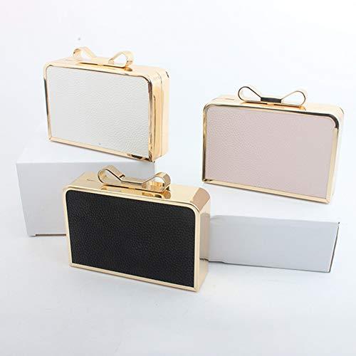 Purse Clutch Pink Mini Evening Hard Women Banquet Handbag Yoome Bag Case Bridal qcvPTOf