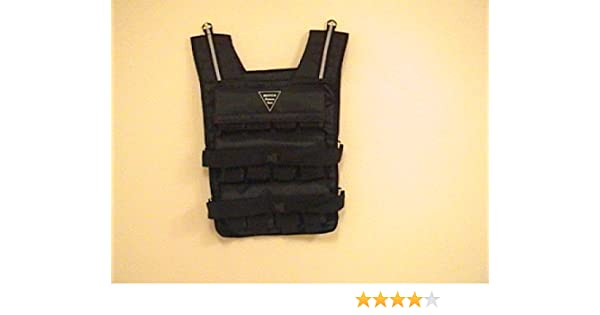 4916eafa867 Amazon.com   NEW! Weight Vest  60LB. Weighted Fitness Exercise Training Vest    Sports   Outdoors