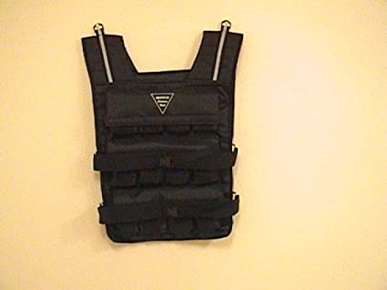 3a81dda3dd5 Image Unavailable. Image not available for. Color  NEW! Weight Vest  60LB. Weighted  Fitness Exercise Training Vest