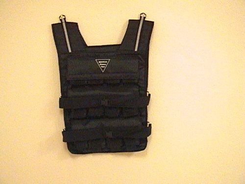 NEW! Weight Vest: 60LB. Weighted Fitness Exercise Training Vest by Bestco Fitness Vest
