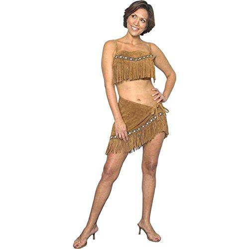 Women's Sexy Sacagawea Indian Costume Large 14-16
