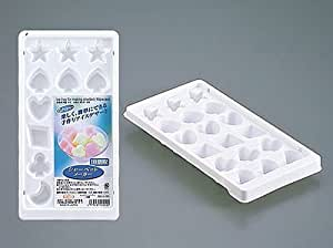 Ice tray for making sorbet or sherbet - 18 pieces