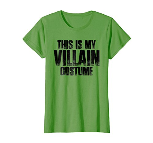 Womens This Is My Villain Costume T Shirt