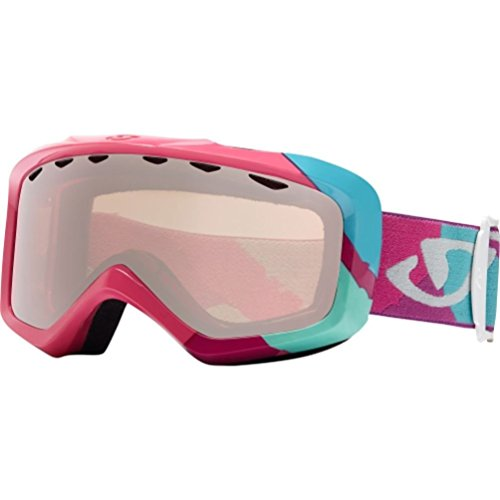 Giro Snow Goggles 2014 Grade Magenta Brush Rose Silver Youth