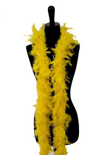 [WGI 6' 60g Adult Feather Boa, Marigold] (Moulin Rouge Dress Up Ideas)