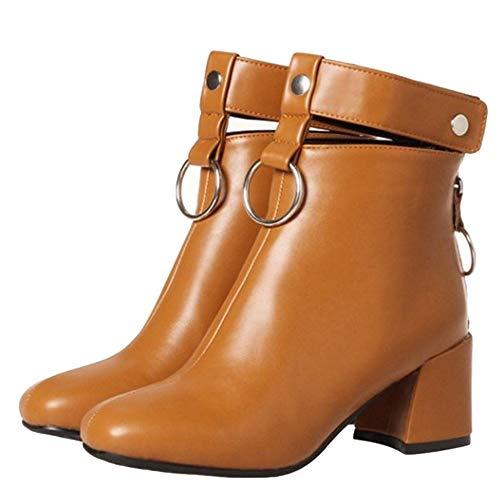 Cuteflats Femme Chelsea Marron Boots 51q07xa ZXqzwxZH