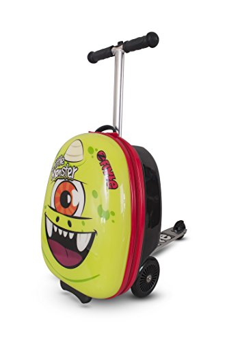 Aka Green (Zinc Flyte Kids Luggage Scooter 18