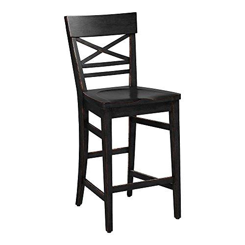 Astonishing Amazon Com Ethan Allen Blake Counter Stool Carbon Kitchen Short Links Chair Design For Home Short Linksinfo