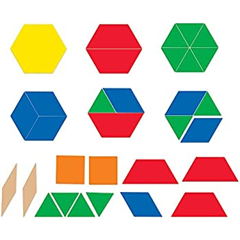 Learning Resources Giant Magnetic Pattern Blocks