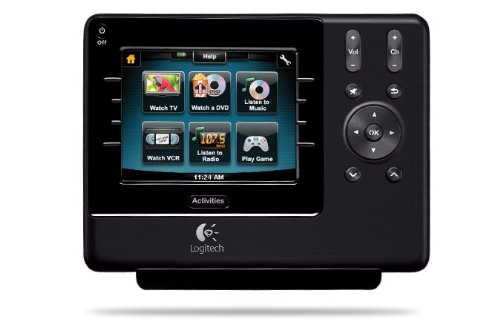 Logitech Harmony 1100 Universal Remote with Color Touch Screen (Discontinued by Manufacturer) by Logitech