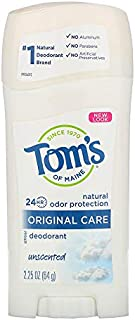 product image for Tom's of Maine Natural Deodorant Stick Unscented 2.25 oz (Pack of 3)