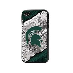 Michigan State Spartans iPhone 4 & iPhone 4s Bumper Case Brick NCAA