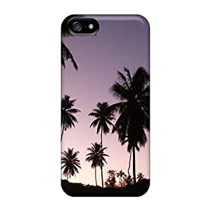 Karencases OZr184Ywmf Case For Iphone 5/5s With Nice Twilight Palms Appearance