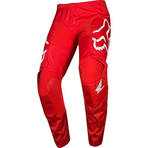 Fox Racing 180 Honda Men's Off-Road Motorcycle Pants - Red / 34 (Fox Riding Pants)