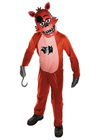 Evolution's Kids Five Nights at Freddy's Foxy Halloween Costume Medium