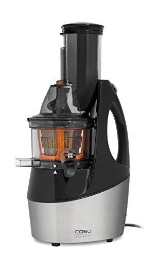 CASO SJW450 Design Multi-Entsafter mit Slow Juice Technologie, 60 Umdrehungen/Min., 75mm Einfüllöffnung, 240 Watt