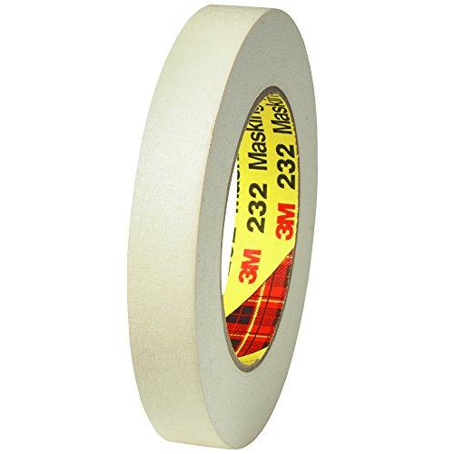 BOX BT934232 3M #232 Scotch High Performance Masking Tape, 3/4