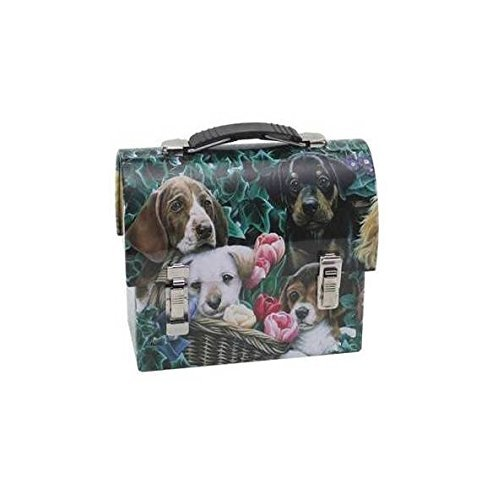 Puppy Lunch Box for Dog Treats (Large) by Howie's Hearts (Image #1)