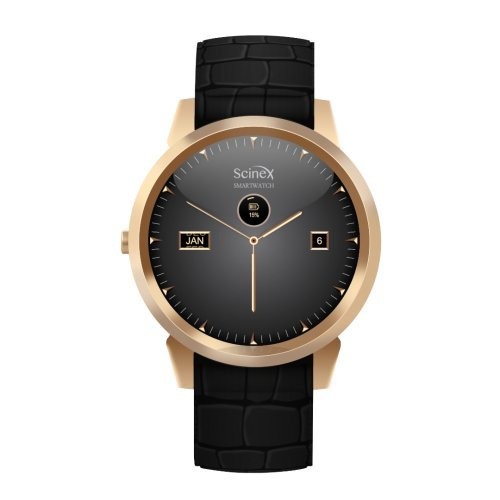 Scinex Halo Smart watch Android 5.1 (Gold/Black) by Scinex (Image #2)