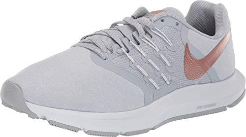 Nike Women's Run Swift Running Shoe, Wolf Grey/Metallic Red Bronze, 7 Regular US
