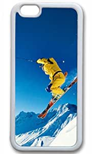 Elegant lady Masterpiece Limited Design Case for iPhone 6 TPU White by Cases & Mousepads
