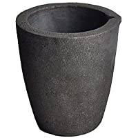 #3 4KG MegaCast Foundry Clay Graphite Crucibles Black Cup Furnace Torch Melting Casting Refining Gold Silver Copper…