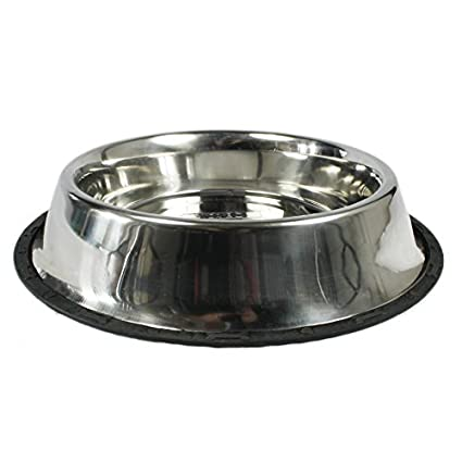 Image Unavailable. Image not available for. Colour  Super Dog Solid Stainless  Steel Food Bowl ... 34d5db6ca