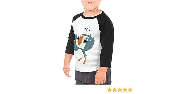 Love Birds Unisex Toddler Baseball Jersey Contrast 3//4 Sleeves Tee