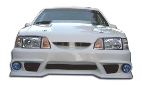 Duraflex ED-EOF-692 GTX Front Bumper Cover - 1 Piece Body Kit - Fits Ford Mustang 1987-1993 ()