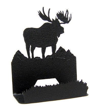 Amazon moose business card holder home kitchen moose business card holder colourmoves