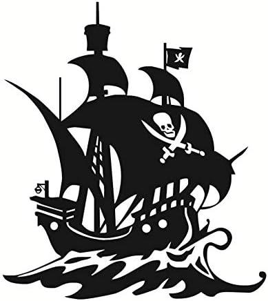zzlfn3lv Etiqueta engomada de Bricolaje Barco Pirata Tatuajes de ...