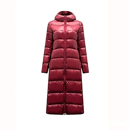 MINMINA Ultra-light down jacket high-end winter wear long ultra-thin down  jacket over the knee down jacket 47c452cb3
