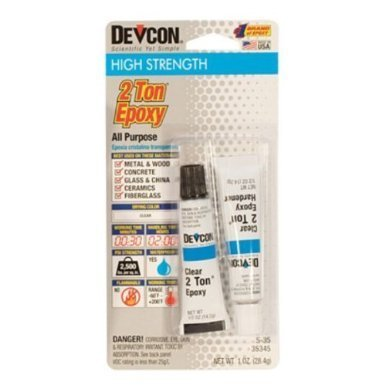 (Devcon - 2 Ton Epoxy - 28g Tube (S35) by Glue)