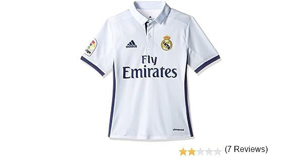 ff1fc831ab1ae adidas Real Madrid H Jsy Y - Camiseta Real Madrid 2016 2017 para Niños   Amazon.es  Deportes y aire libre