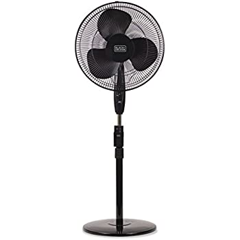 Amazon Com Lasko 2521 Oscillating Stand Fan 16 Inch