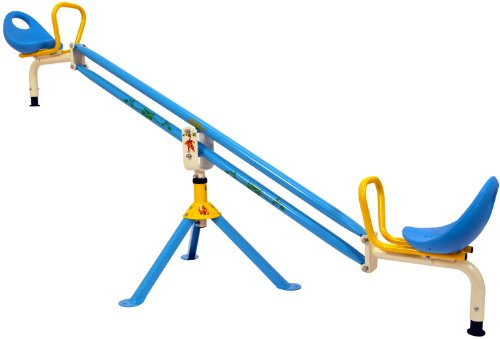 Kiddi-o by Kettler Home Playground Equipment: Outdoor Swivel Seesaw, Youth Ages 3+ by Kiddi-O by Kettler