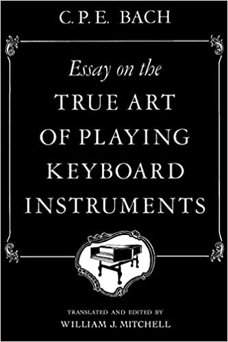 essay on the true art of playing keyboard instruments amazon co essay on the true art of playing keyboard instruments amazon co uk c p e bach william j mitchell 9780393097160 books