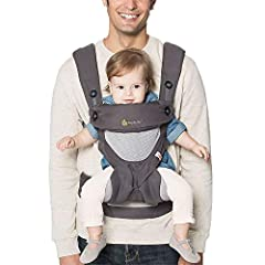 The Ergobaby 360 is a natural next step after your little one outgrows the stage of being carried in a baby Wrap or newborn carrier. This award-winning, all-position baby carrier is comfortable and functional between 12 and 45 pounds, with fo...