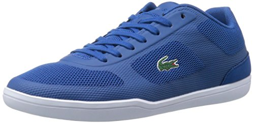 Lacoste Men's Court-Minimal Sport 416 1 SPM Fashion Sneaker, Dark Blue, 12 M US