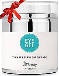 Upgraded Eye Gel for Dark Circles, Eye Circles, the Most Effective Anti-Aging Eye Gel and Eye Circle Cream, the Best Eye Gel and Eye Circle Cream for 2018