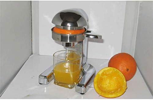 N / A Exprimidor de cítricos Comercial Multifuncional con Patas de succión, aleación de Zinc Acero Inoxidable 304 con Filtro Incorporado Piezas Desmontables Mangos cómodos